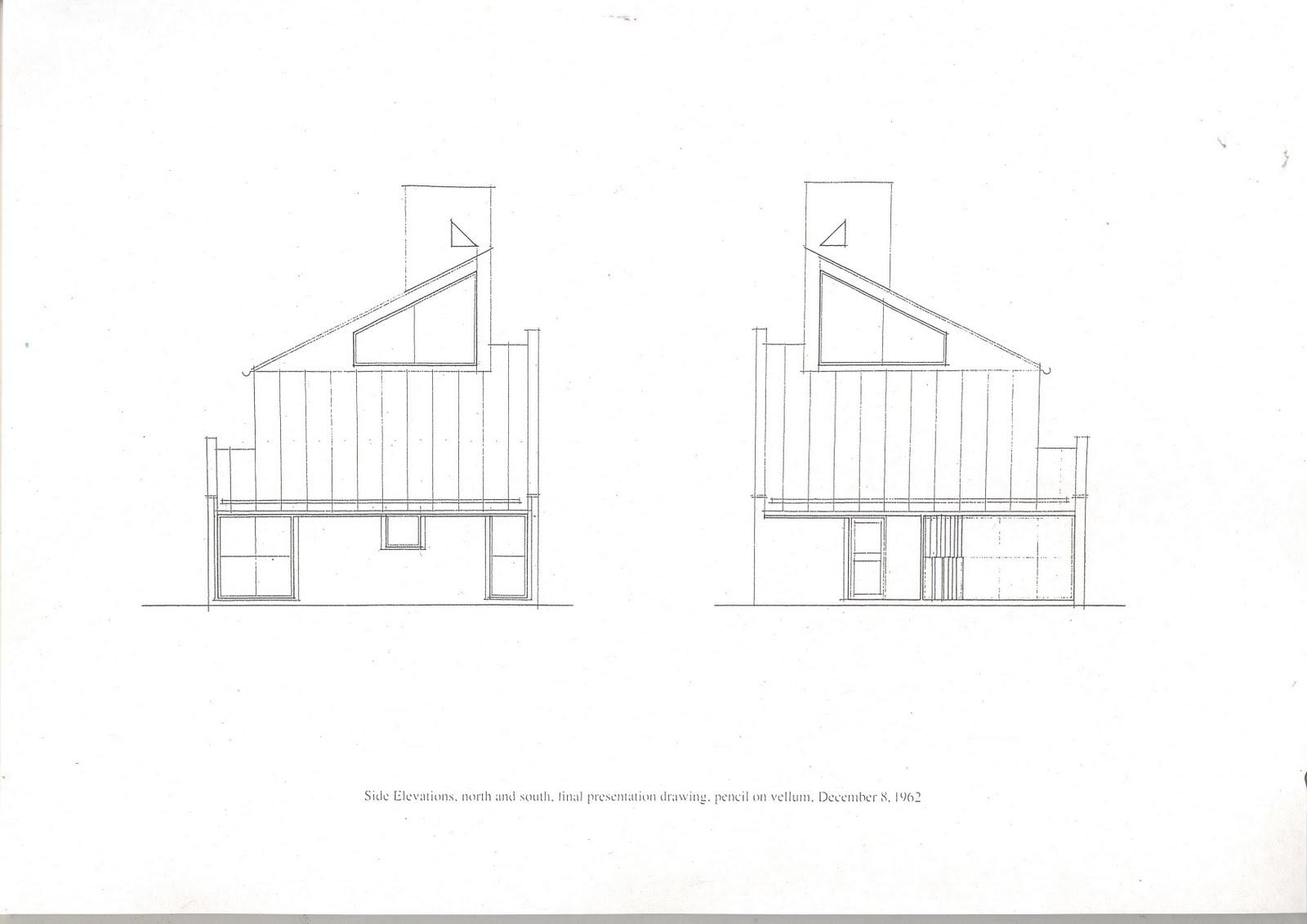 6 Vanna Venturi House Plan Section Elevation on fisher house elevation, vanna venturi interior, kaufmann house elevation, eames house elevation, vanna venturi sections dimensions, tugendhat house elevation,