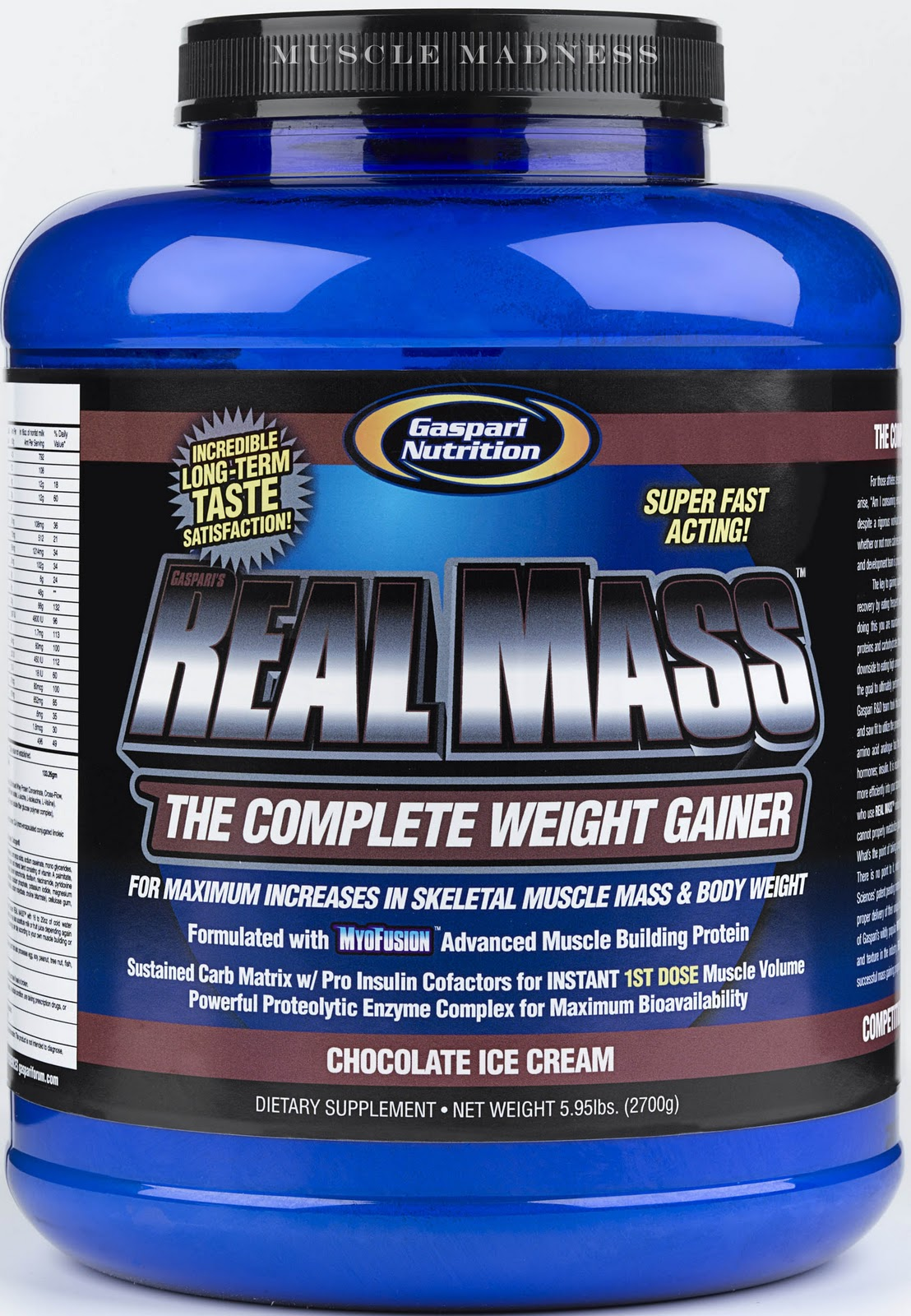 Dex Body Fitness Mass Gainer