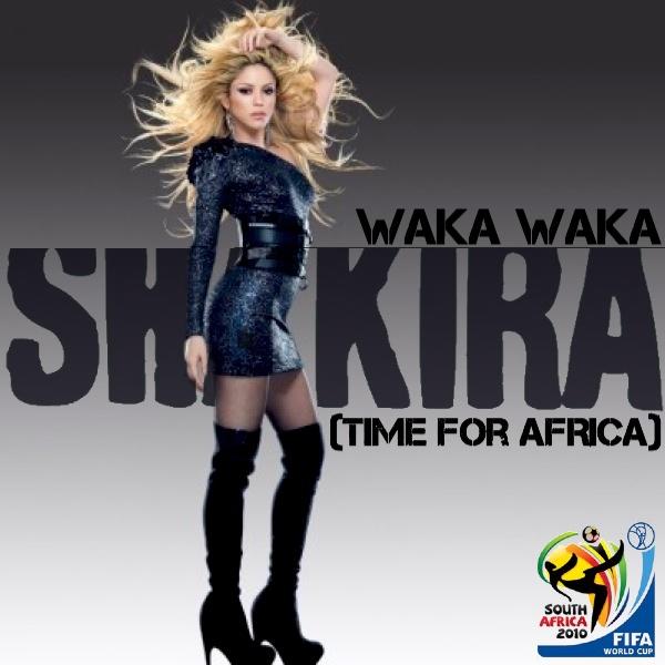 Just Cd Cover Shakira Waka Waka Time For Africa Mbm