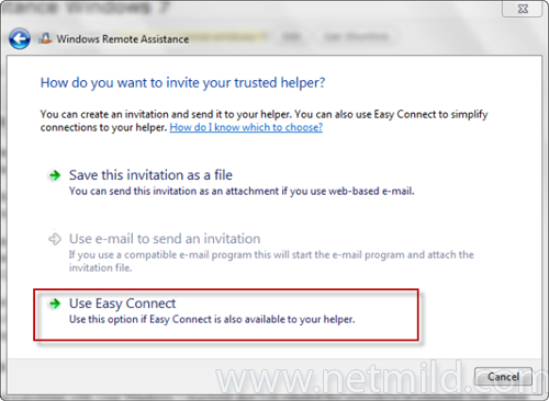 Use Easy Connect Cara Menggunakan Windows 7 Remote Assistance