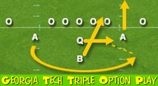 Triple Option Wing Formation
