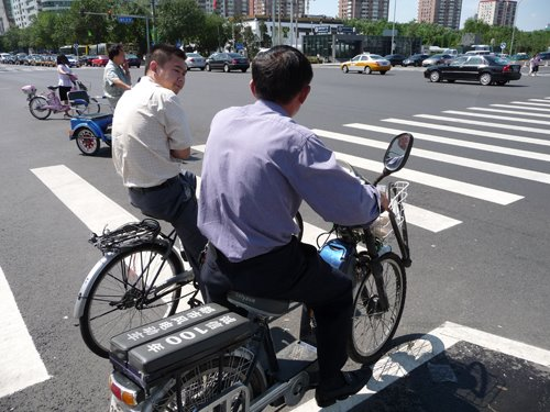 Beijing traffic congestion doesn't exist!