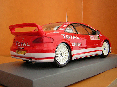 maquetas jandro manuel peugeot 307 wrc 2004. Black Bedroom Furniture Sets. Home Design Ideas