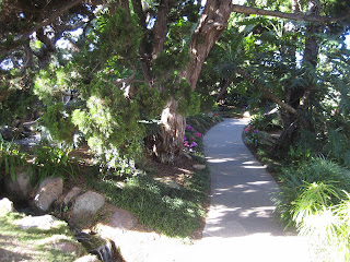 Meditation Gardens at Self-Realization Fellowship in Encinitas, CA