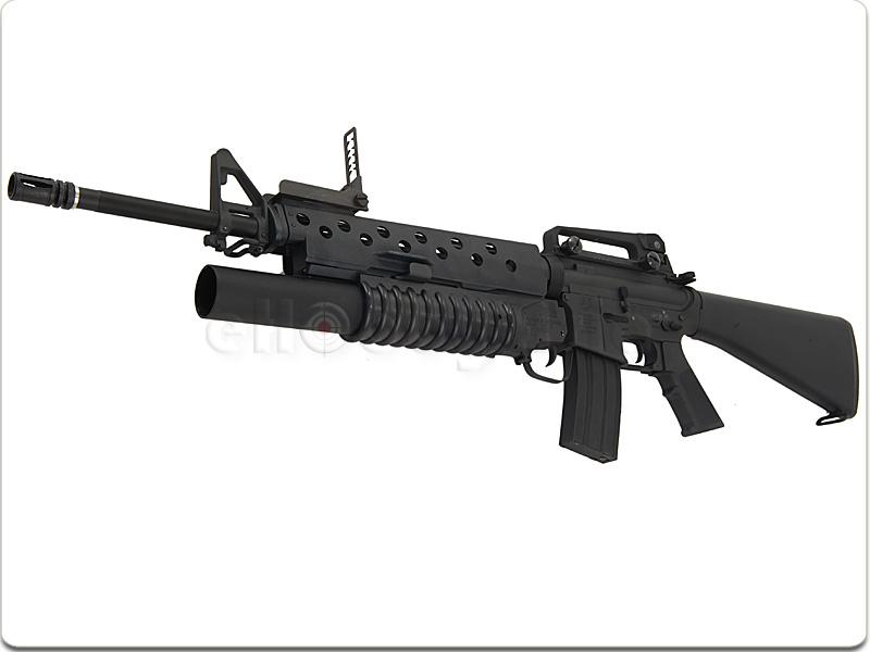 hokiku.com: G&P M16A3 with M203 (GP299) M16a3 M203