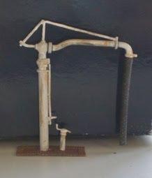 Ratio N gauge water crane