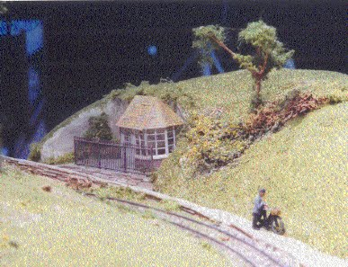Wood End 009 scale layout