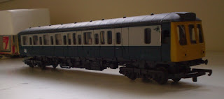 Building a Class 121 from a Lima railcar