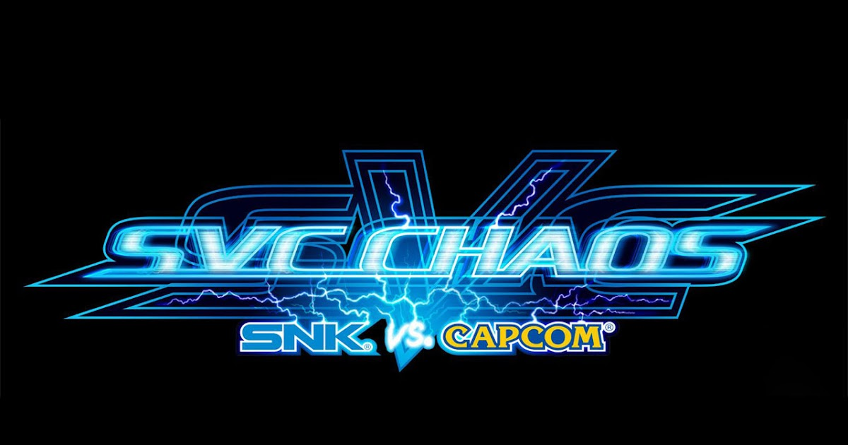 Game Wallpaper 2k Snk Vs Capcom Svc Chaos Logo Wallpaper