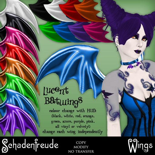 3f466e8dca (Draconic Kiss Demona hair  ~silentsparrow~ belladonna lepidoptera tattoos   Schadenfreude Langwidere Amythest skin