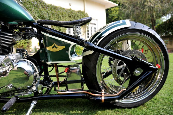 ROYAL ENFIELD MOTORCYCLES: Rajputana Customs builds amazing