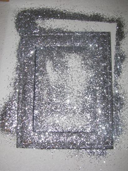 Loving Every Second Glitter Frame