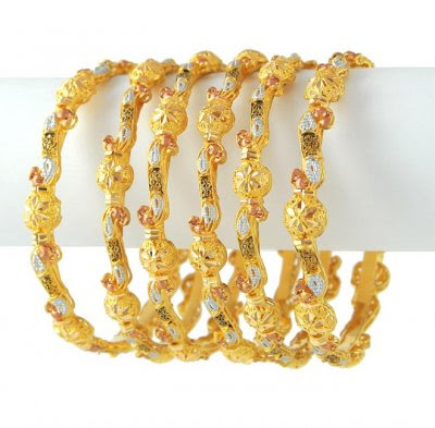U Search For New Fashion: Gold Bangles Models