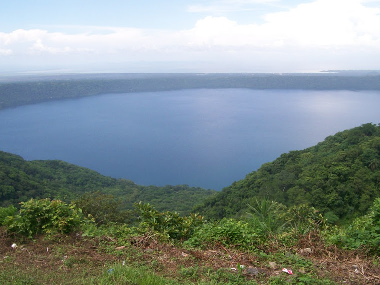 Our beautiful Lake Apoyo!