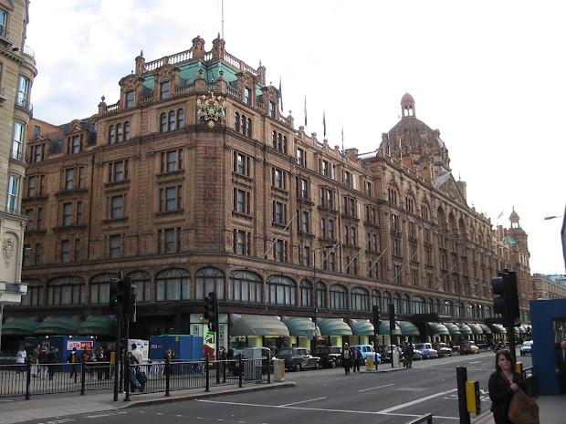 London Harrods Department Store