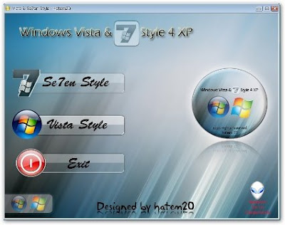 Windows Vista & 7 Style – Tranforma Tu XP y Dale Una Mejor Apariencia