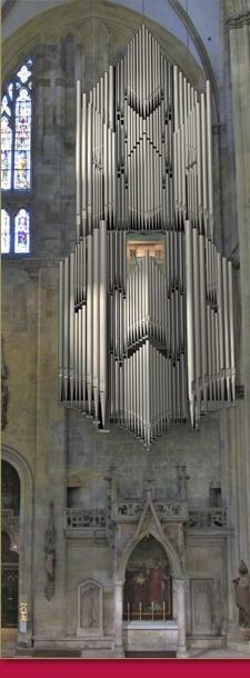 New Liturgical Movement: World's Largest Hanging Organ for