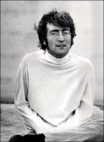John Lennon during filming of Magical Mystery Tour in Plymouth, 1967