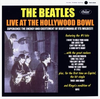 in the life of the beatles the beatles live at the hollywood bowl 1964 us mono lp. Black Bedroom Furniture Sets. Home Design Ideas