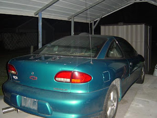 The Picture To Left Top Is What Rear Exterior Used Look Like Day I Brought It Home Tail Lights Were All Ed And Busted