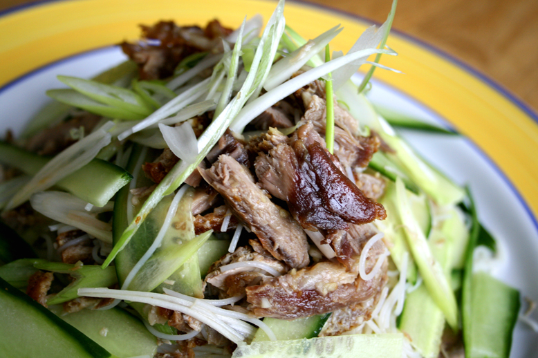 ::DUCK NOODLE SALAD