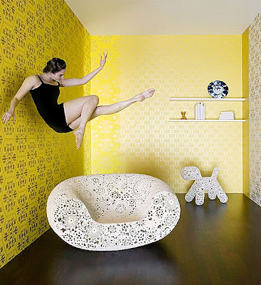 papier peint motif journal beautiful papier peint cmm d. Black Bedroom Furniture Sets. Home Design Ideas