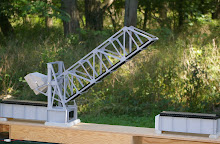 Bascule bridge for S and 0 gauge designed by Frank Grantham