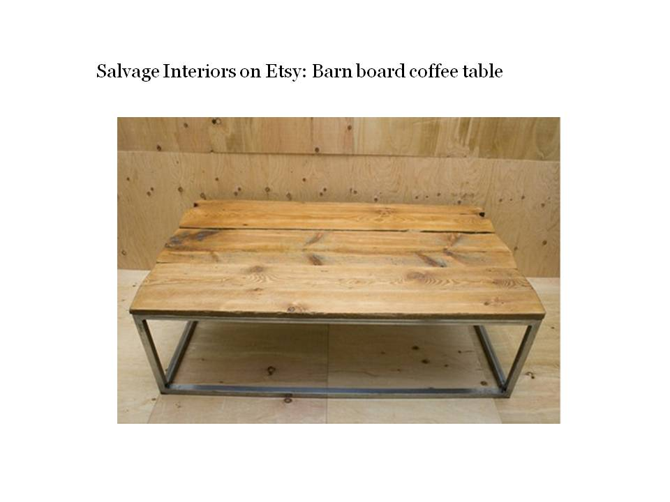 Eco Maniac Five Awesome Reclaimed Wood Coffee Tables