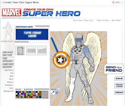 Crea tu propio superheroe con Marvel