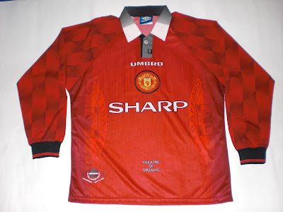 fcf18c31f Patch Them UP !  Man United 1996 98 Home Kit