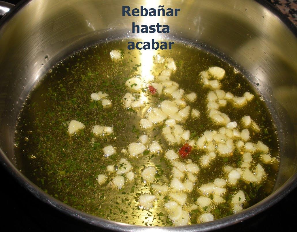 Rebañar hasta acabar: Bacalao en salsa verde