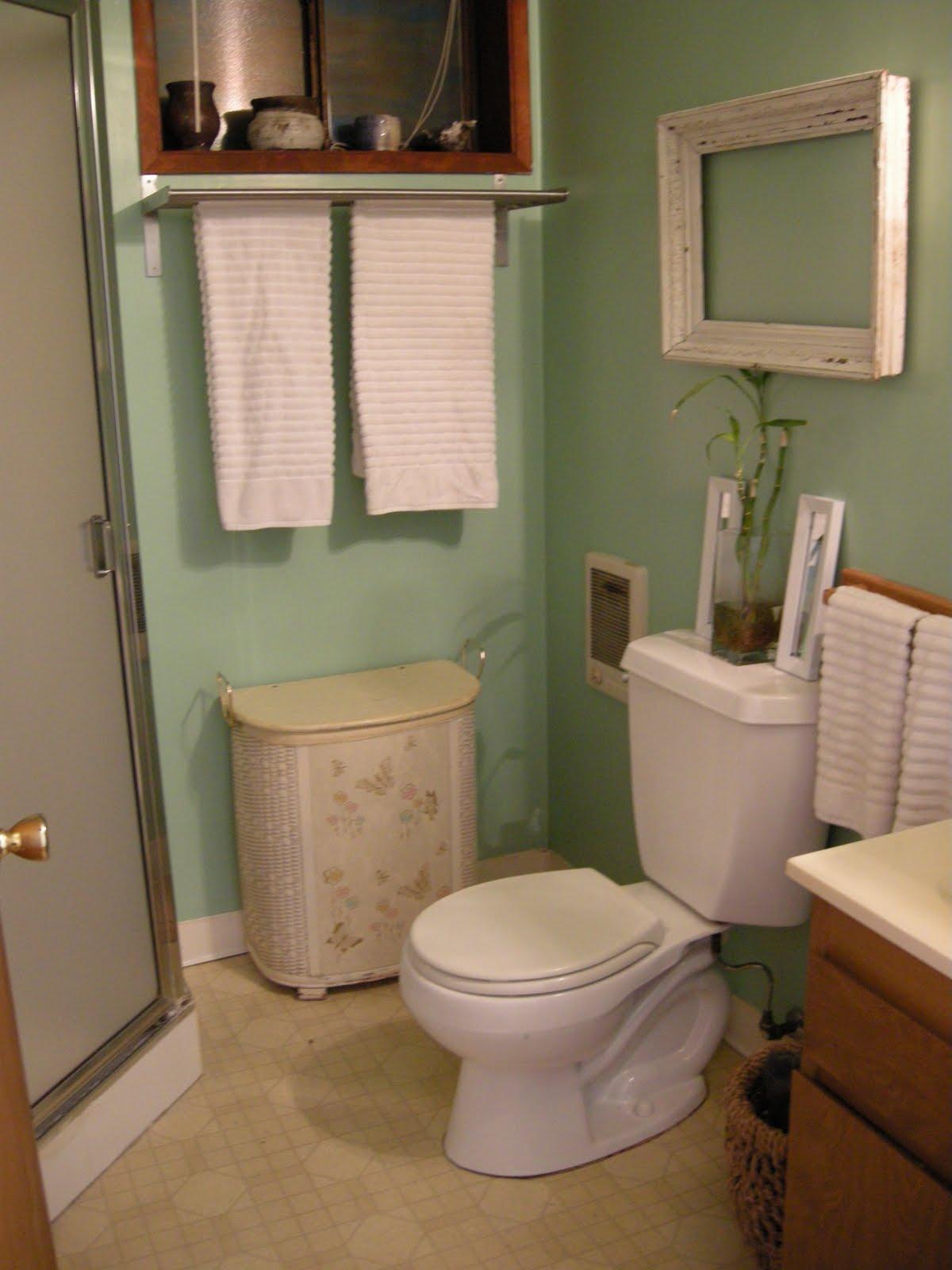 Going Coastal My New Sea Green Bathroom