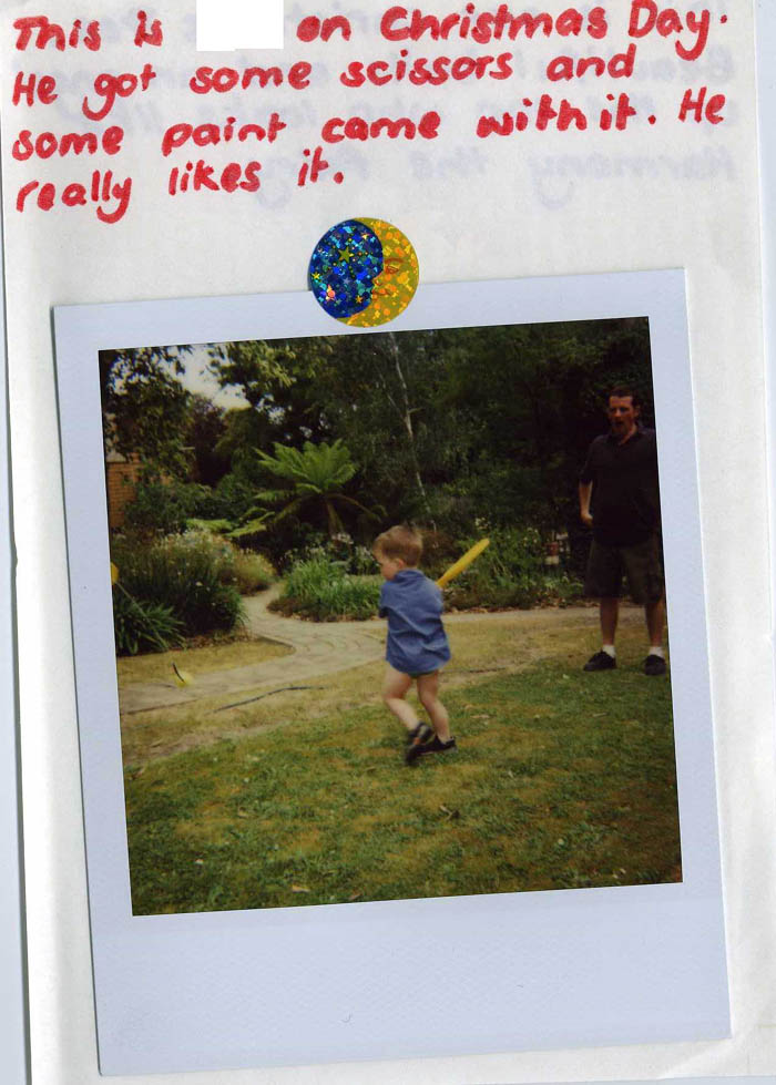 Polaroid Diary of a small child [img 02] ...