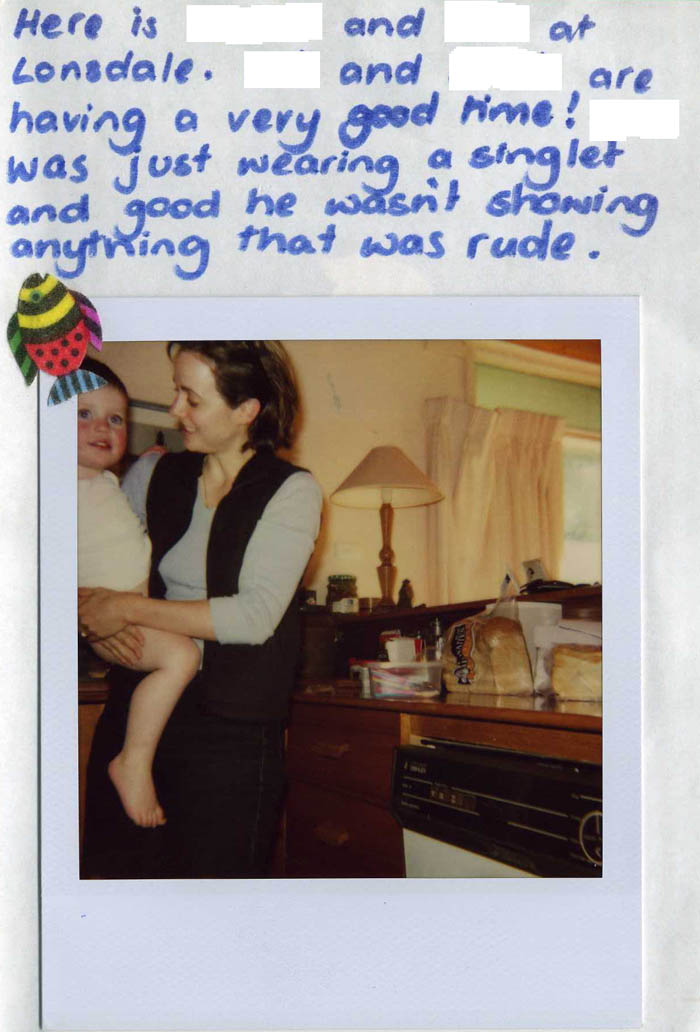 Polaroid Diary of a small child [img 04] ...