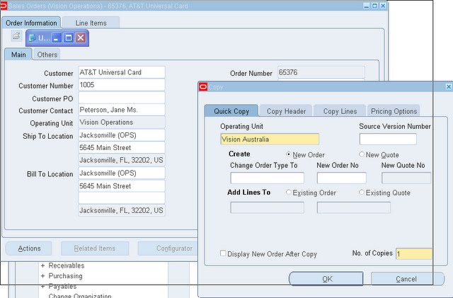 Applications and Integration Blog: How to Copy Sales Order Across