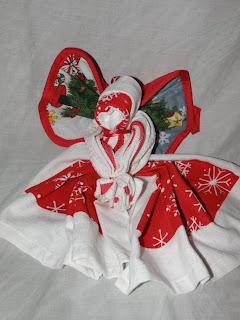 My Frugal Family: Christmas Dishtowel Angel