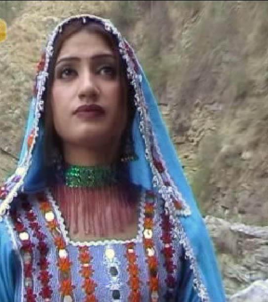Semono Iku: Pashto Telefilm's Actress Kiran New Pictures