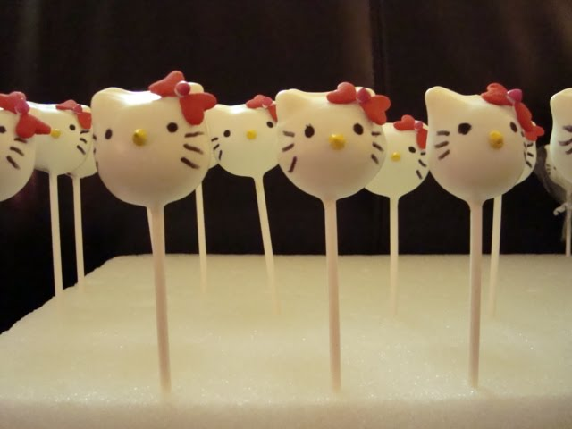 hello kitty cake pops - photo #16
