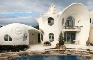 One Distinct House Is The Shell It Most Original In Mexico Or Maybe World Of Beautiful Houses You Will Surely