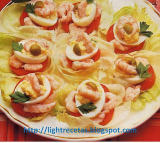 receta de cocina con camarones