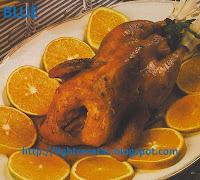 como preparar pollo a la naranja