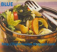 como preparar una ensalada con espinacas y manzana