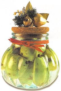 Como preparar peras con brandy
