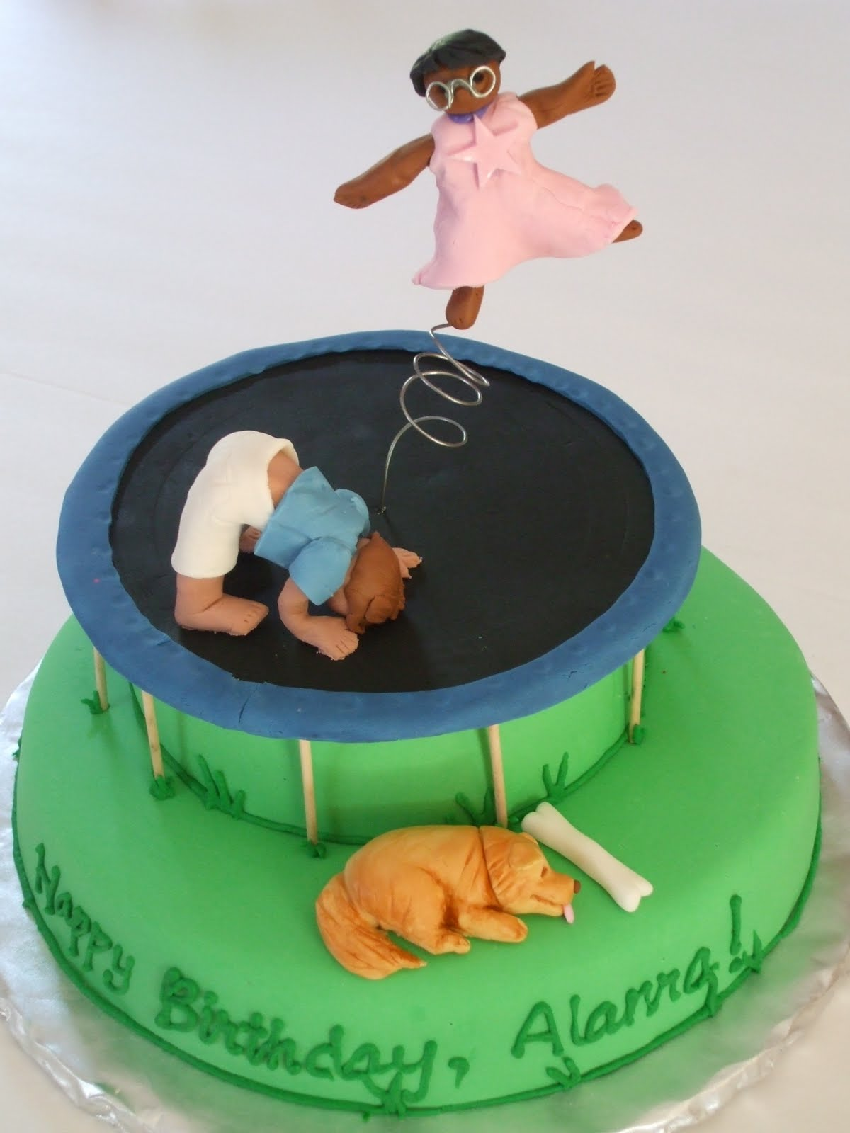 Trampoline Cake Toppers