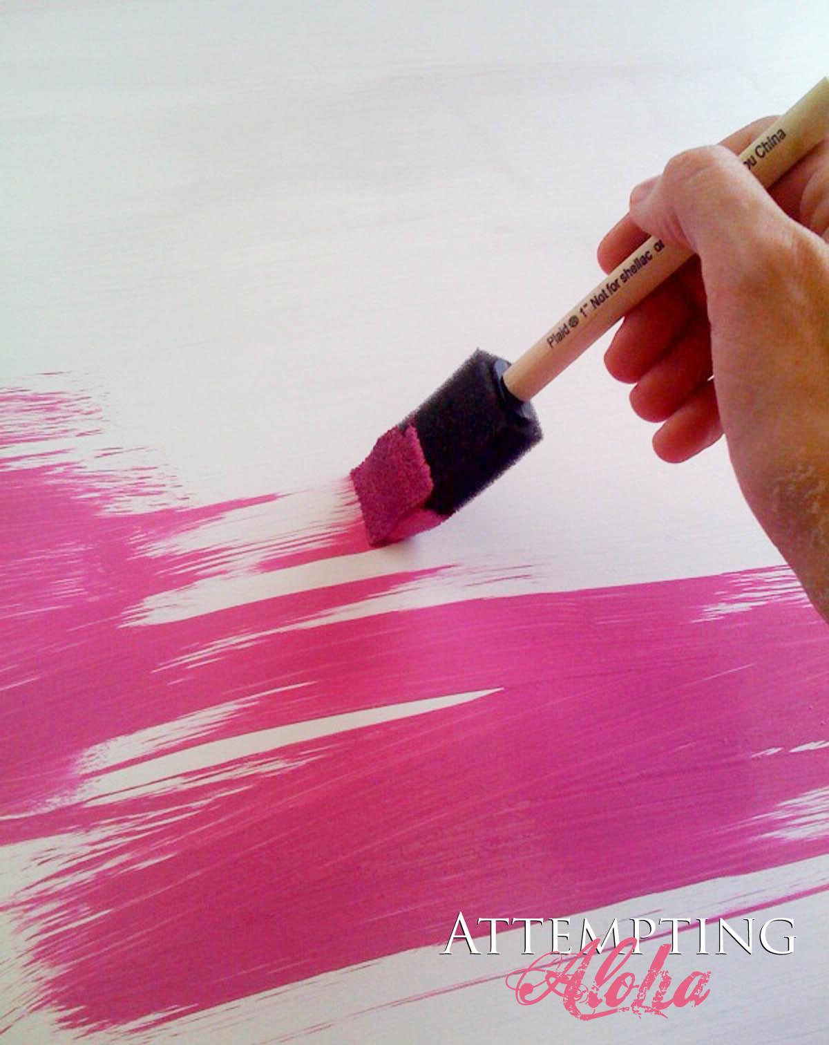 Honeyle Pink Chalkboard