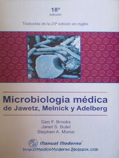 micro Microbiología Médica 18ª Edición   Jawetz, Melnick, Adelberg