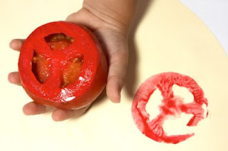 Pizza - Tomato Stamp