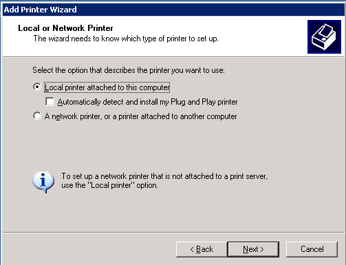 Ramblings o' Techie: Sharing 64 bit printer drivers using a
