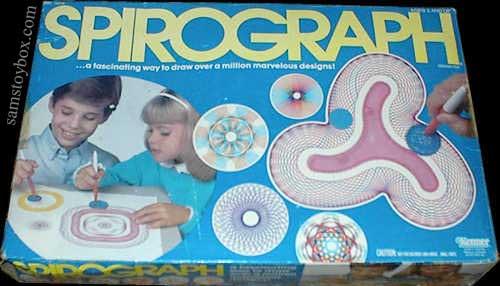 spelletjes van vroeger - spirograph