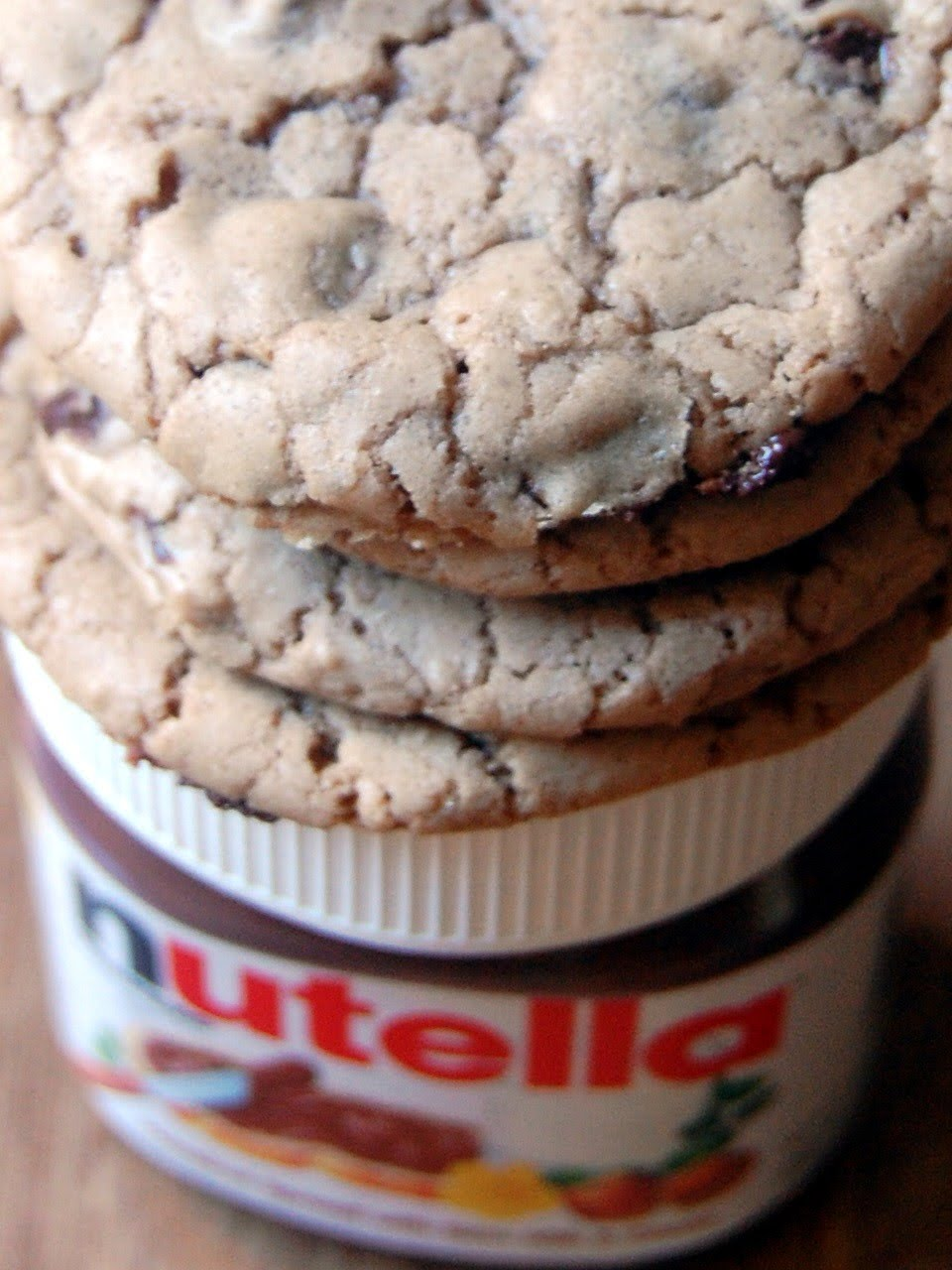 Cassie Craves: Nutella Chocolate Chip Cookies